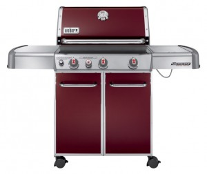 Weber Genesis EP-330 in Brick Red